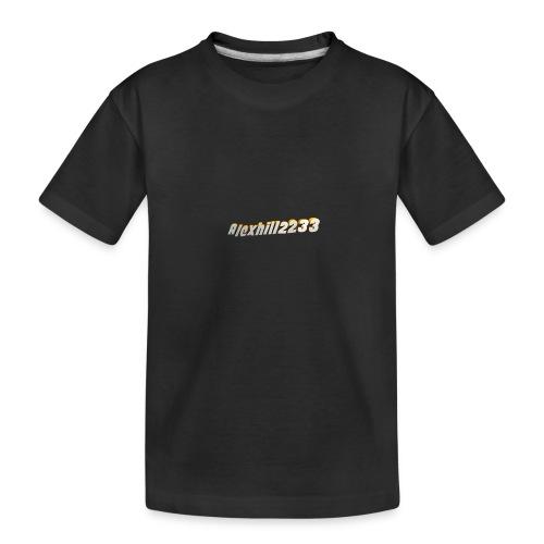 Alexhill2233 Logo - Teenager Premium Organic T-Shirt