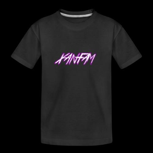 XANFAM (FREE LOGO) - Teenager Premium Bio T-Shirt