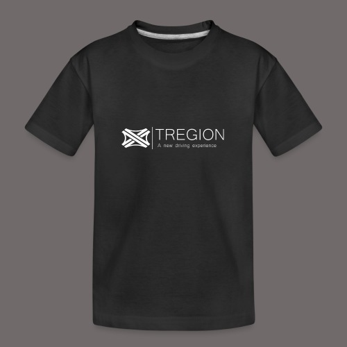 Tregion Logo wide - Teenager Premium Organic T-Shirt