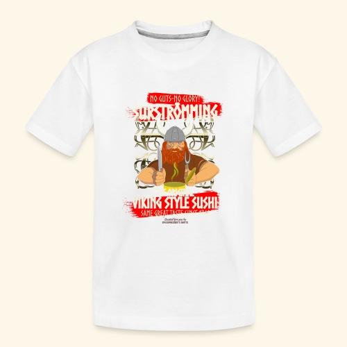 Surströmming Challenge Viking Sushi T-Shirt - Teenager Premium Bio T-Shirt