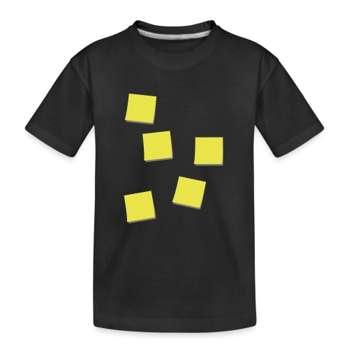 Post-Its - Teenager premium biologisch T-shirt