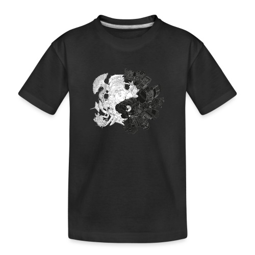 New Yin Old Yang - Teenager Premium Organic T-Shirt