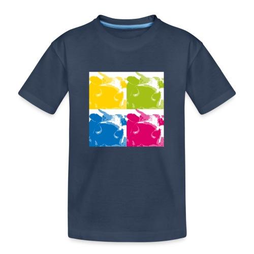 4 Kühe - Teenager Premium Bio T-Shirt