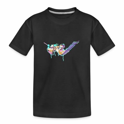 Grafitty - Camiseta orgánica premium adolescente