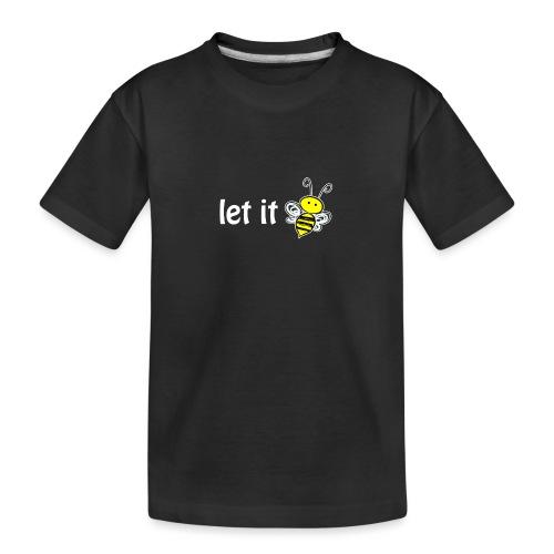 let it bee - Teenager Premium Bio T-Shirt
