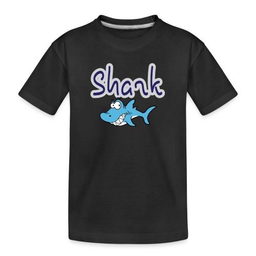 Kinderfreundlicher Hai - Teenager Premium Bio T-Shirt