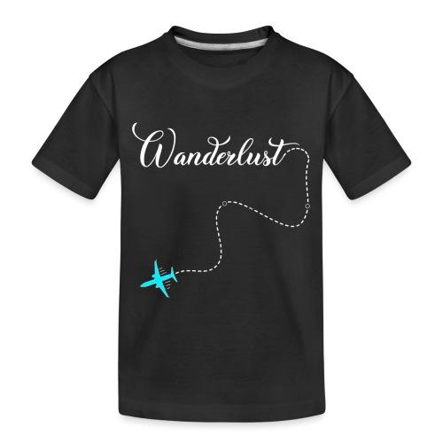 Reisen Weltreise Flugzeug Travelshirt - Teenager Premium Bio T-Shirt