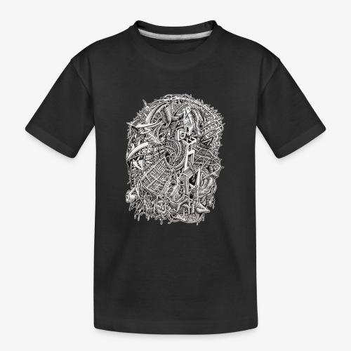 Weirdhead by Brian Benson - Teenager Premium Organic T-Shirt