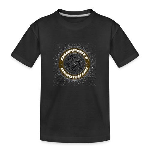 Sprocket Support - Premium økologisk T-skjorte for tenåringer