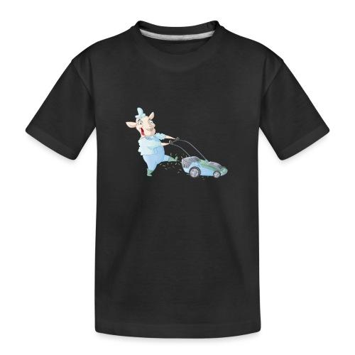 Der Rasen-MÄHER - Teenager Premium Bio T-Shirt