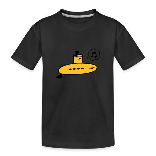 Singing Yellow Submarine - Teenager Premium Organic T-Shirt