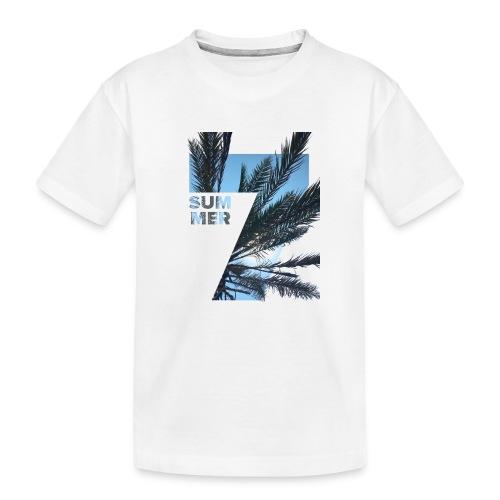 Summertime - Teenager premium biologisch T-shirt