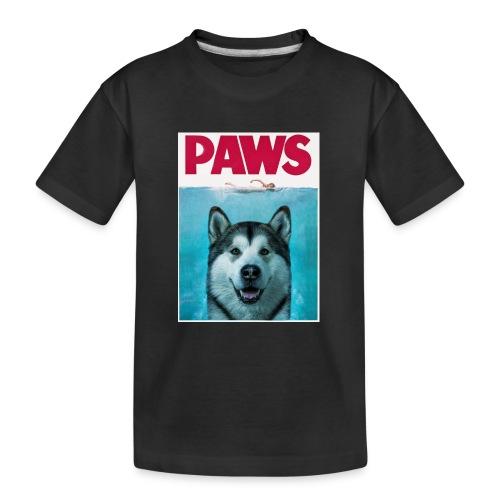 paws 2 - Teenager Premium Organic T-Shirt