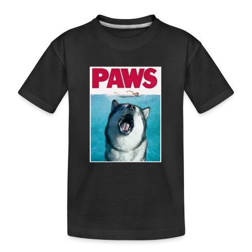 paws Alaskan Malamute - Teenager Premium Organic T-Shirt
