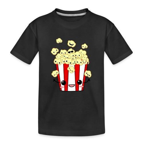 PopCorn - Camiseta orgánica premium adolescente