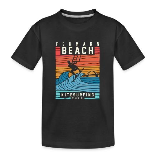 Fehmarn - Kitesurfen - Teenager Premium Bio T-Shirt