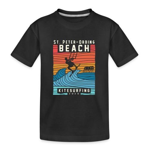 Kitesurfing St. Peter Ording - Teenager Premium Bio T-Shirt