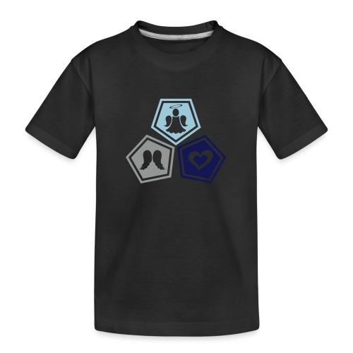 Tee shirt baseball Enfant Trio ange, ailes d'ange - Teenager Premium Organic T-Shirt