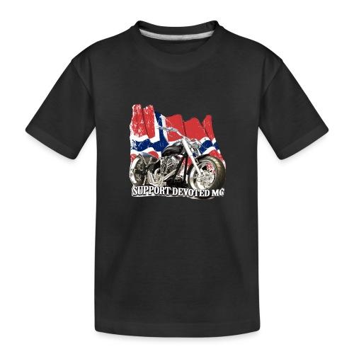 SUPPORT STREETWARE FLAG1 - Premium økologisk T-skjorte for tenåringer