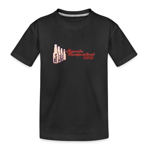 Smeele Bierfestival 2018 - Teenager premium biologisch T-shirt