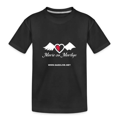 Marie ou Marilyn (version light) - T-shirt bio Premium Ado