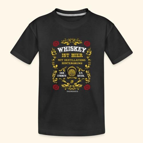 Whiskey ist Bier - Teenager Premium Bio T-Shirt