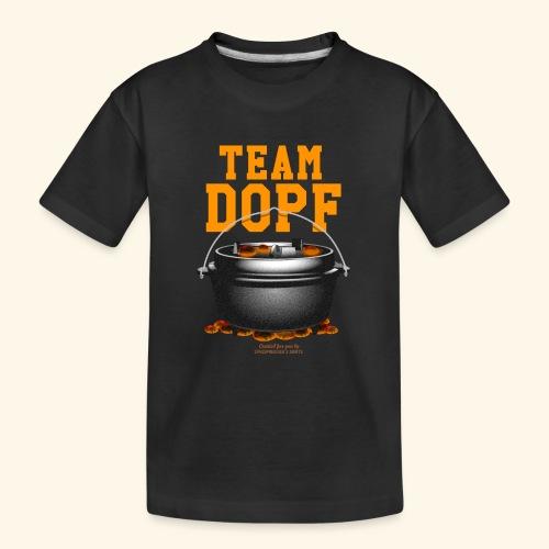 Dutch Oven T-Shirt Team Dopf - Teenager Premium Bio T-Shirt