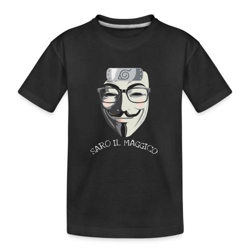 SARO IL MAGGICO - Maglietta ecologica premium per ragazzi