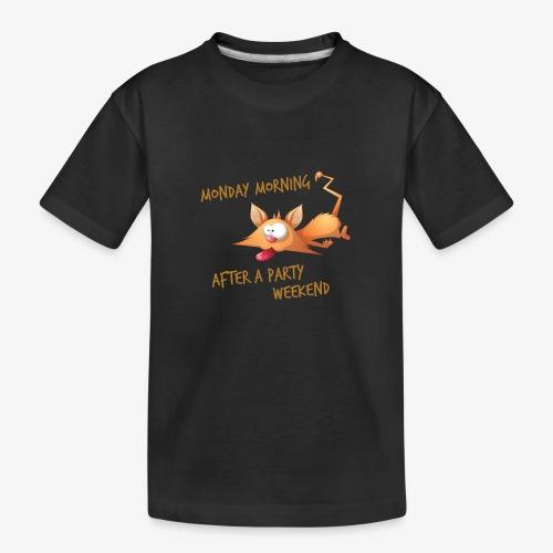 Lundi Matin - Monday Morning - Teenager Premium Organic T-Shirt