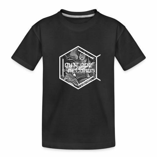 Outcode Records Art - Camiseta orgánica premium adolescente