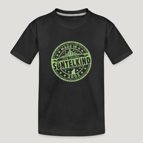 SÜNTELKIND 2002 - Das Süntel Shirt mit Süntelturm - Teenager Premium Bio T-Shirt