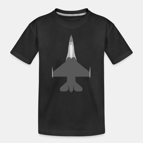 F-16 Viper / Fighting Falcon jet fighter / F16 - Teenager Premium Organic T-Shirt
