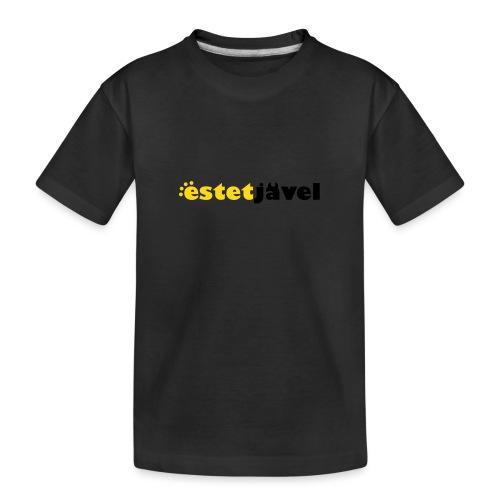 ESTETJÄVEL - Ekologisk premium-T-shirt tonåring