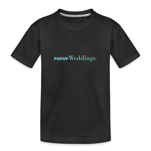 Popup Weddings - Teenager Premium Organic T-Shirt