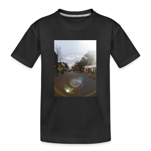 20180112 025558 - Teenager premium T-shirt økologisk