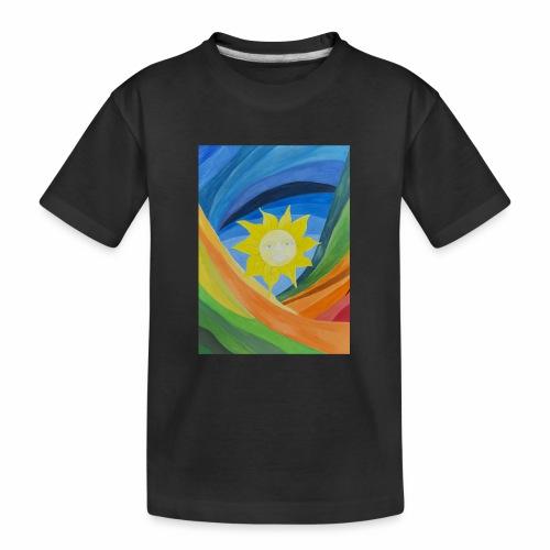 lachende-sonne - Teenager Premium Bio T-Shirt