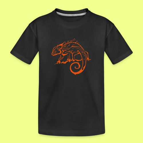 iguana - Camiseta orgánica premium adolescente