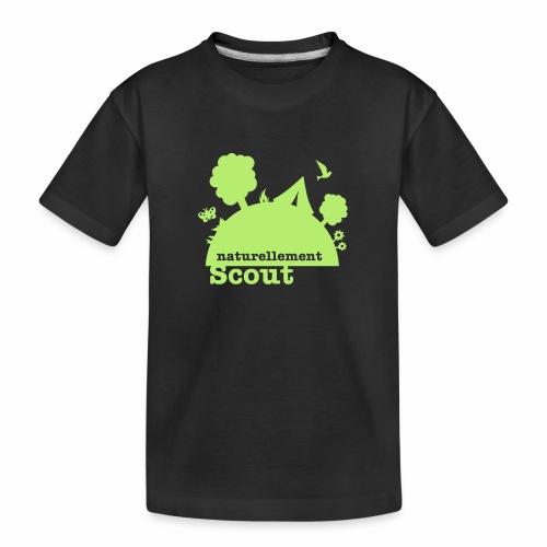 Naturellement Scout - T-shirt bio Premium Ado