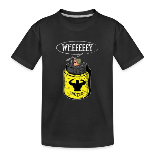 Escargot Wheeeeeeey - T-shirt bio Premium Ado