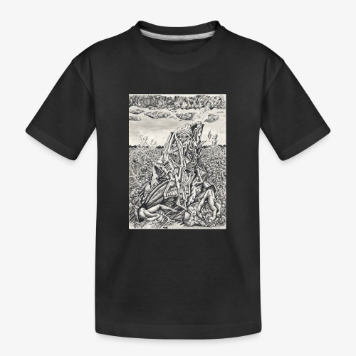 Intimidation by Brian benson - Teenager Premium Organic T-Shirt