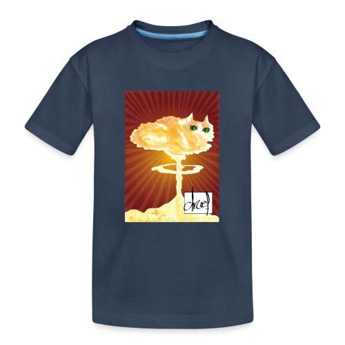 Atoompoes - Teenager premium biologisch T-shirt