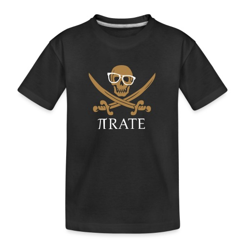 Pirate - Teenager premium biologisch T-shirt