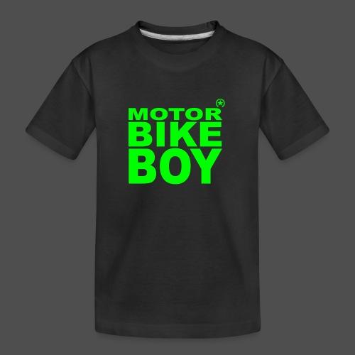 Motorbike Boy - Ekologiczna koszulka młodzieżowa Premium