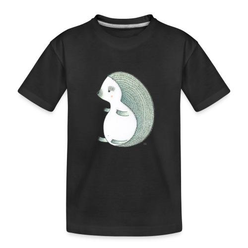 egel - Teenager premium biologisch T-shirt