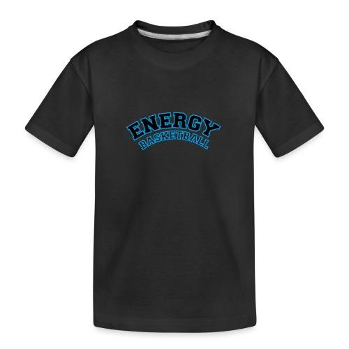 baby energy basketball logo nero - Maglietta ecologica premium per ragazzi
