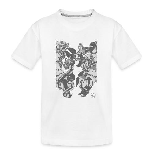 Bliss Yagami Grey - T-shirt bio Premium Ado