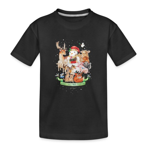 Vegan Christmas - Teenager Premium Organic T-Shirt