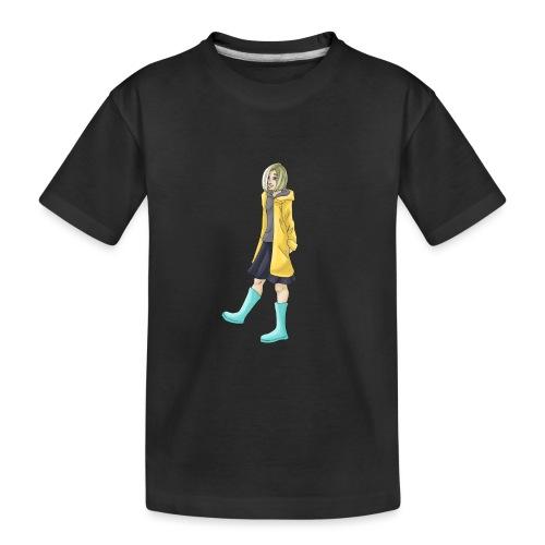 Yellow Coat - Teenager Premium Organic T-Shirt