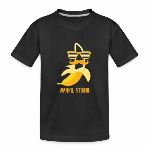 Hipster Banana - T-shirt bio Premium Ado