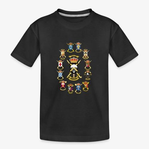 UNIDADES BRIPAC - Camiseta orgánica premium adolescente